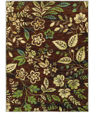 RugStudio presents Shaw Mirabella Bastia Brown 19700 Machine Woven, Good Quality Area Rug
