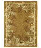 RugStudio presents Shaw Tommy Bahama Home-Nylon Bengali Border Gold 49700 Machine Woven, Good Quality Area Rug