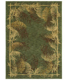 RugStudio presents Shaw Tommy Bahama Home-Nylon Bengali Border Ocean 49600 Machine Woven, Good Quality Area Rug