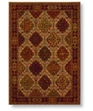 RugStudio presents Shaw Reverie Bennington Beige - 00100 Machine Woven, Better Quality Area Rug