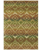 RugStudio presents Shaw Tommy Bahama Home-Nylon Canberra Ikat Light Multi 55110 Machine Woven, Good Quality Area Rug