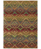 RugStudio presents Shaw Tommy Bahama Home-Nylon Canberra Ikat Multi 55440 Machine Woven, Good Quality Area Rug