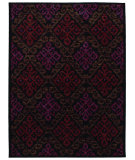 RugStudio presents Shaw Mirabella Capri Black 4500 Machine Woven, Good Quality Area Rug