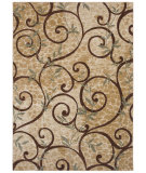 RugStudio presents Shaw Stonegate Cedar Key Beige 17100 Machine Woven, Good Quality Area Rug
