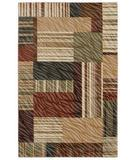 RugStudio presents Shaw Centre Street Bookshop Light Multi 01110 Machine Woven, Good Quality Area Rug