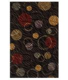 RugStudio presents Shaw Centre Street Hemisphere Black 03500 Machine Woven, Good Quality Area Rug