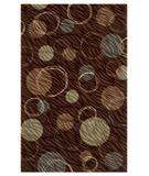 RugStudio presents Shaw Centre Street Hemisphere Brown 03700 Machine Woven, Good Quality Area Rug