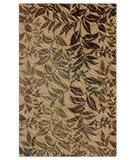 RugStudio presents Shaw Centre Street Flourish Gold 06200 Machine Woven, Good Quality Area Rug
