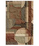 RugStudio presents Shaw Centre Street Bleeker Light Multi 07110 Machine Woven, Good Quality Area Rug