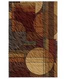 RugStudio presents Shaw Centre Street Bleeker Multi 07440 Machine Woven, Good Quality Area Rug