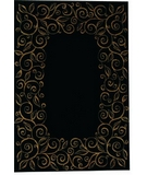 RugStudio presents Shaw Accents Chateau Ebony - 05500 Machine Woven, Good Quality Area Rug