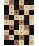 RugStudio presents Shaw Modern Elements Checkmate Black - 02500 Machine Woven, Good Quality Area Rug