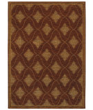 RugStudio presents Shaw Tommy Bahama Home-Nylon Cipollini Trellis Dark Brown 53710 Machine Woven, Good Quality Area Rug