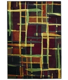 RugStudio presents Shaw Reverie Collage Multi 21440 Machine Woven, Better Quality Area Rug