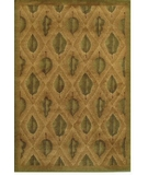 RugStudio presents Rugstudio Famous Maker 38104 Gold Machine Woven, Good Quality Area Rug