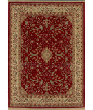 RugStudio presents Shaw Modern Home Courtland Red 11800 Machine Woven, Best Quality Area Rug