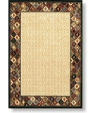RugStudio presents Shaw Modern Home Mesa Border Multi - 12440 Machine Woven, Best Quality Area Rug