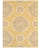 RugStudio presents Rugstudio Sample Sale 85946R Gold 11200 Machine Woven, Good Quality Area Rug
