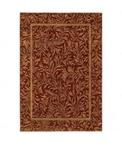 RugStudio presents Shaw Phillip Crowe Timber Creek Englewood Scarlet-05800 Machine Woven, Better Quality Area Rug