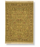 RugStudio presents Shaw Antiquities English Garden Gold 71700 Machine Woven, Best Quality Area Rug