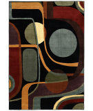 RugStudio presents Shaw Modern Home Era Black 18500 Machine Woven, Best Quality Area Rug