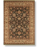RugStudio presents Rugstudio Sample Sale 6503R Black - 2500 Machine Woven, Best Quality Area Rug