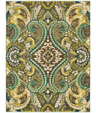 RugStudio presents Shaw Melrose Fernwood Jade 13300 Machine Woven, Good Quality Area Rug
