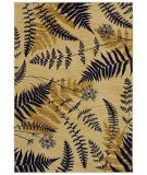 RugStudio presents Shaw Bob Timberlake Forest Ferns Beige 04100 Machine Woven, Good Quality Area Rug