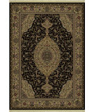 RugStudio presents Shaw Classic Style French Medallion Ebony 05500 Machine Woven, Better Quality Area Rug