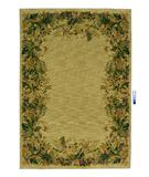 RugStudio presents Rugstudio Famous Maker 38072 Beige Machine Woven, Better Quality Area Rug