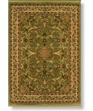 RugStudio presents Rugstudio Sample Sale 6520R Sage - 11300 Machine Woven, Best Quality Area Rug