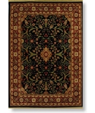 RugStudio presents Rugstudio Sample Sale 6521R Black - 11500 Machine Woven, Best Quality Area Rug