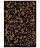 RugStudio presents Shaw Bob Timberlake Garden Vine Black 06500 Machine Woven, Good Quality Area Rug