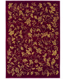 RugStudio presents Shaw Bob Timberlake Garden Vine Cranberry 06800 Machine Woven, Good Quality Area Rug