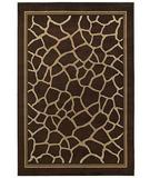 RugStudio presents Shaw Concepts Giraffe Brown 04700 Machine Woven, Good Quality Area Rug