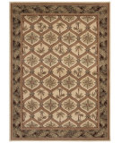 RugStudio presents Shaw Beachside Green Cove Beige 07100 Machine Woven, Better Quality Area Rug