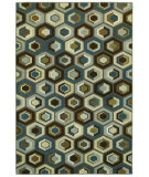 RugStudio presents Shaw Newport Greystone Multi 15440 Machine Woven, Better Quality Area Rug