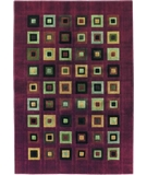 RugStudio presents Shaw Impressions Grid Block Red 04800 Machine Woven, Good Quality Area Rug