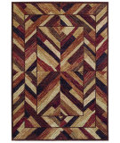 RugStudio presents Shaw Bob Timberlake Hearthside Dark Brown 02710 Machine Woven, Good Quality Area Rug