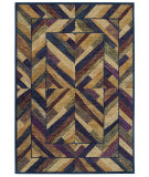 RugStudio presents Shaw Bob Timberlake Hearthside Navy 02400 Machine Woven, Good Quality Area Rug