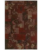 RugStudio presents Shaw Concepts Idyll Red 07800 Machine Woven, Good Quality Area Rug