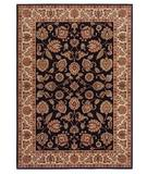 RugStudio presents Shaw Inspired Design Chateau Garden Black 02500 Machine Woven, Better Quality Area Rug