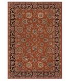RugStudio presents Shaw Inspired Design Chateau Garden Spice 02600 Machine Woven, Better Quality Area Rug