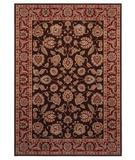 RugStudio presents Shaw Inspired Design Chateau Garden Brown 02700 Machine Woven, Better Quality Area Rug