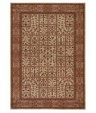 RugStudio presents Shaw Inspired Design Avondale Beige 03100 Machine Woven, Better Quality Area Rug