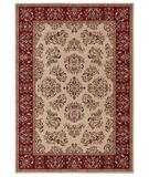 RugStudio presents Shaw Inspired Design Alyssa Beige 04100 Machine Woven, Better Quality Area Rug