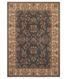 RugStudio presents Shaw Inspired Design Alyssa Blue 04400 Machine Woven, Better Quality Area Rug