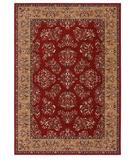 RugStudio presents Shaw Inspired Design Alyssa Red 04800 Machine Woven, Better Quality Area Rug