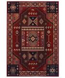 RugStudio presents Shaw Inspired Design Vallero Red 05800 Machine Woven, Better Quality Area Rug
