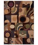RugStudio presents Shaw Inspired Design Montecito Light Multi 06110 Machine Woven, Better Quality Area Rug